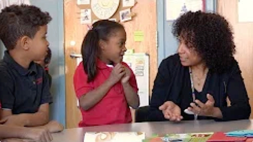 Children learning through social interactions